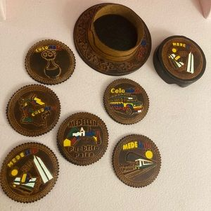 Handmade Coasters from Colombia